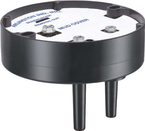 Arlington Industries FB412 Fan and Fixture Mounting Box, 1-Pack