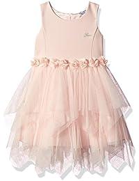 Girls' Sleeveless Fit N Flare Dress