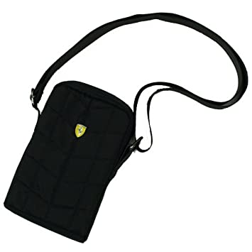 7e98c8044a Sac bandoulière Ferrari noir: Amazon.fr: High-tech