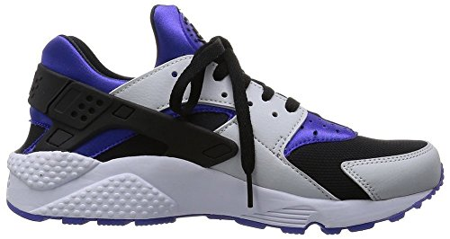 Air Huarache Running Shoe Men Women Fashion Casual Sneakers Violet Pure Platinum Black W6 US=37EU (Light Bone Footwear)