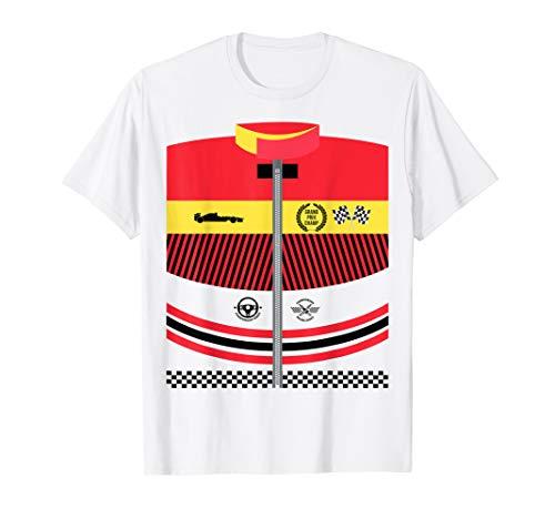 Race Car Driver Costume Idea Tshirt Halloween Racing -