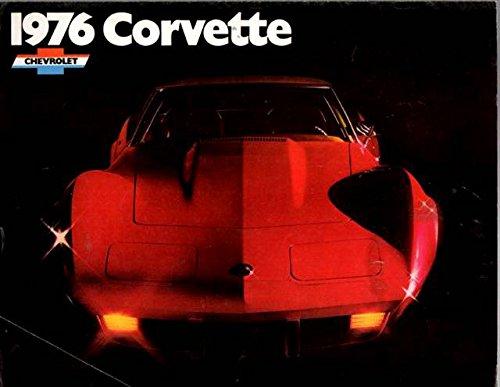 1976 CORVETTE STINGRAY DEALERS SALES BROCHURE - ADVERTISEMENT - pdf epub