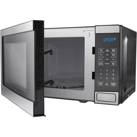 Mainstays 0.7 cu ft Microwave Oven, Stainless Steel by Mainstay (Image #2)