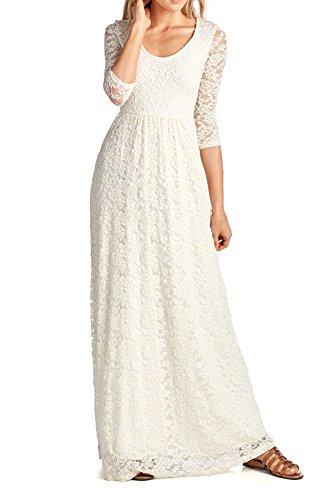 Ivory Dress - 7