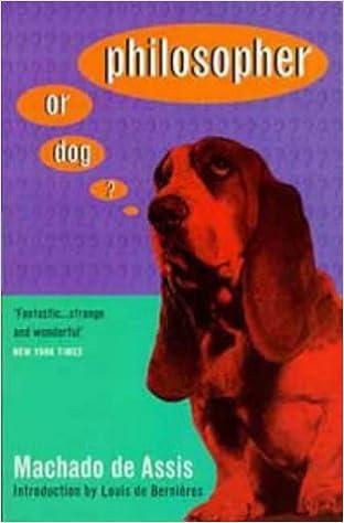 Book Philosopher or Dog? by Machado de Assis (1997-05-29)
