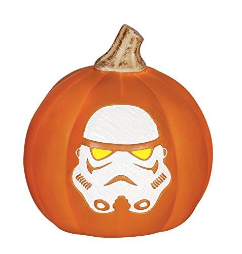 Star Wars Z19068 Stormtrooper Light Up Pumpkin, 6