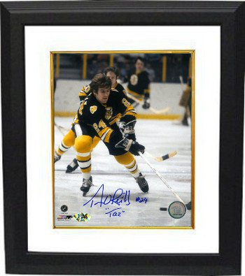 - Terry OReilly Signed Autograph Boston Bruins Color 8X10 Photo Custom Framed TAZ - Authentic Autograph