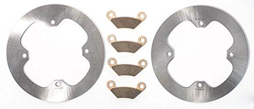 15 Polaris Sportsman/SP 850, all options EPS Front MudRat Brake Rotors Brake Pad