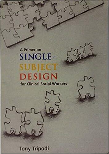 single subject design social work