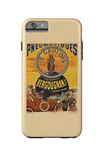 pneumatiques-bergougnan-le-gaulois-vintage-poster-france-c-1905-iphone-6-plus-cell-phone-case-cell-p
