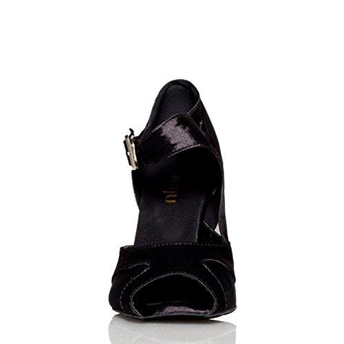 Meijili - salón mujer negro