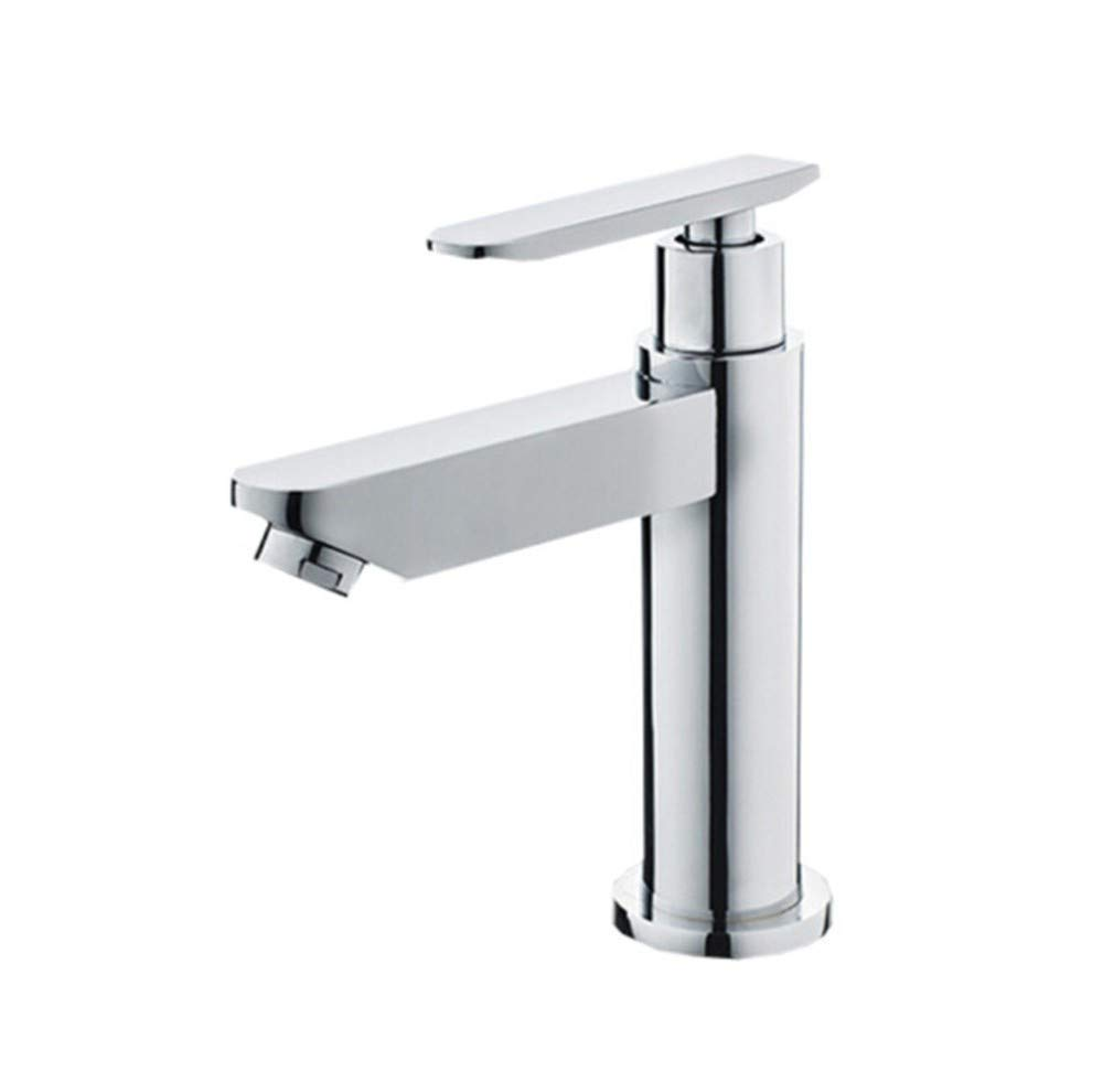 Water Tapdrinking Designer Archbathroom Single Cold Faucet Round Basin Faucet
