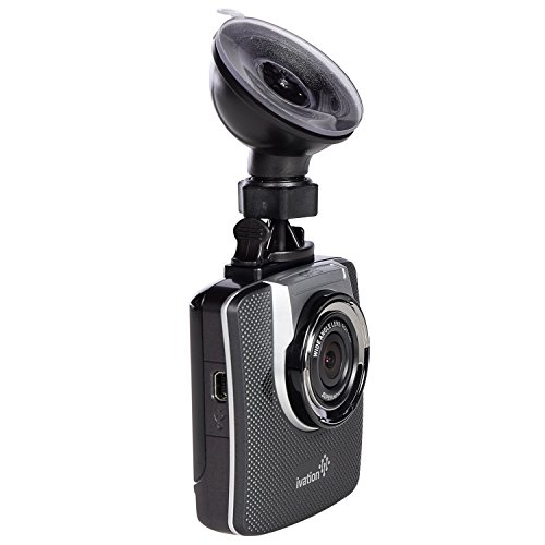 Ivation Dash Cam HD 1296p Video