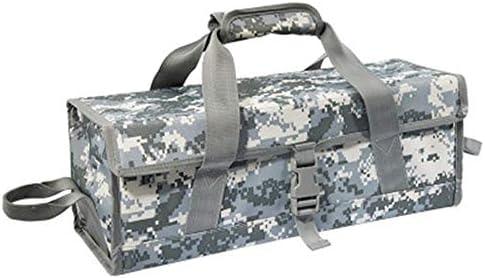 ツールキット ストレージツールバッグカモグランドネイルバッグ耐久性と耐摩耗ツールバッグ缶ストアやツールを整理します ツールの保管と整理バッグ (色 : Camouflage, Size : 45.5x15.5x15cm)