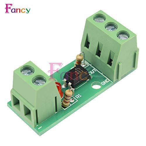 - Value-Trade-Inc - DC 12V 1 Channel Optocoupler Isolation Module Isolated Board Rail Holder PLC Processors 80KHz PC817 EL817 Drive Motor Inverter