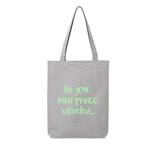 mon en bag viendra prince Tote gris recycle jour toile un 67vn60q5wf