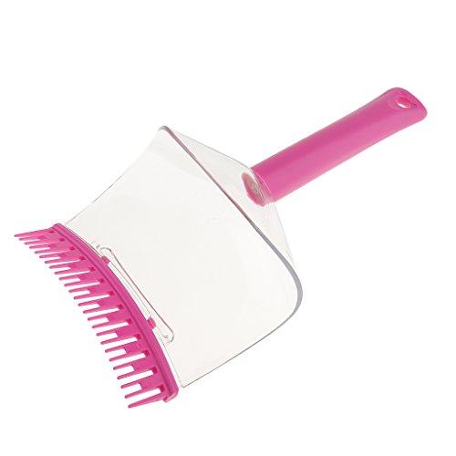 Brush Fringe Cut (MagiDeal Salon DIY Hair Bangs Fringe Cut Comb Clip Brush Hairstyle Typing Trim Tool)
