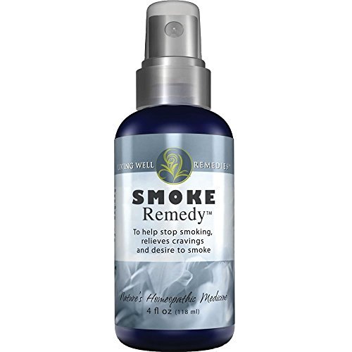 Smoke Remedy - Quit Smoking Naturally - Homeopathic Stop Smoking Spray - Craving Relief from Nicotine, Natural Spray for Smoking Cessation - Freedom from Tobacco and Cigarettes