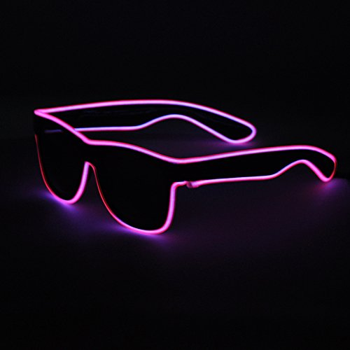 Generic Light Up EL Wire - Custom Neon Sunglasses