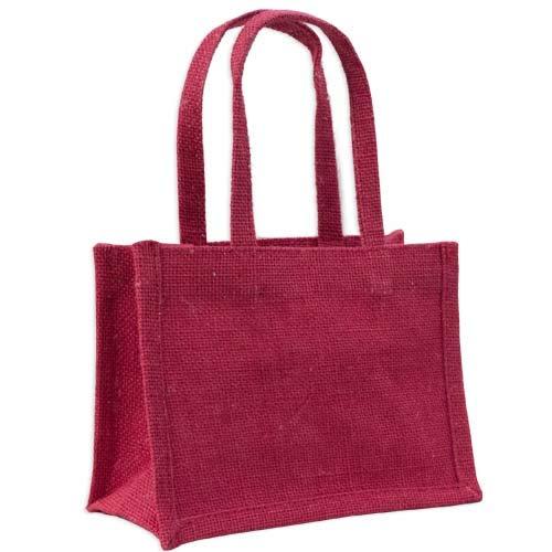 Bolsa de regalo de yute de yute rojo: Amazon.es: Hogar