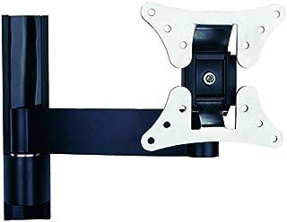 TradeMount Supporto da Parete in Alluminio per Display Estraibile da 7,3cm a 24,5cm, inclinabile di 12°, orientabile di 2 x 180° per ASUS 22' VP228QG
