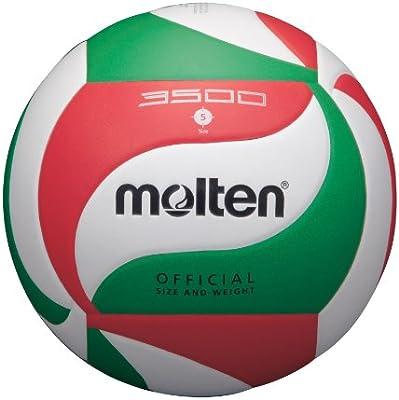 MOLTEN - Balón de Voleibol Oficial (Talla 5), Color Blanco: Amazon ...