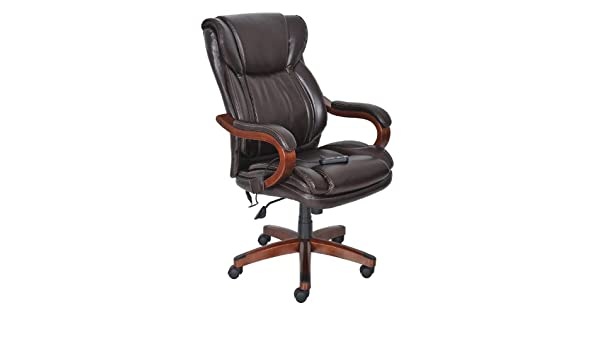 Superb Amazon Lane Big u Tall Bonded Leather Executive Massage Chair Kitchen u Dining