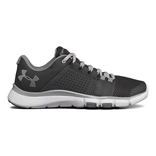 Under Armour Women's UA Strive 7 Rhino Gray/White/Glacier Gray 9 B US by Under Armour