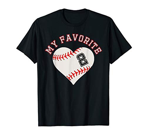 Baseball Player 2 Jersey Outfit No #2  Sports Fan Gift -