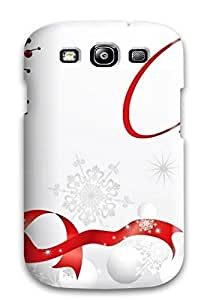 Hard Plastic Galaxy S3 Case Back Cover,hot Merry Christmas21 Case At Perfect Diy