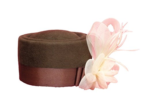 D Bar J Hat Brand, Female, Pill Box, Size 7, Moss Green by D Bar J Hat Brand