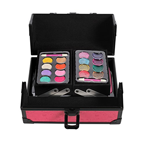 IQ Toys Girls Makeup Set, with Two Tiered Long Lasting Case - http://coolthings.us