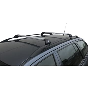 Alluminio autoSHOP Barre PORTATUTTO per Auto Portapacchi Viva 2 Standard per Auto