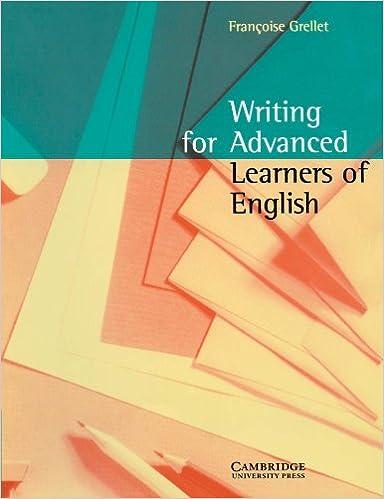 Täysi eBook-lataus Writing for Advanced Learners of English 0521479711 Suomeksi PDF iBook