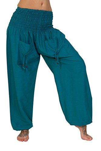 ThaiUK - Pantalón - para mujer Ocean Blue