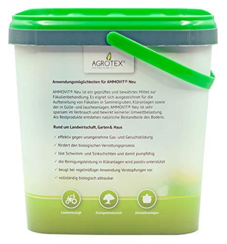 41L0ML0Av8L Agrotex Camping-Toiletten Sanitärzusatz Geruch Fäkalien Zusatz Ammovit Neu 5 kg