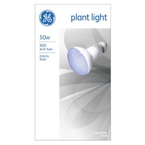 GE Lighting 14888 Plant Light R20 Bulb, 50-Watt