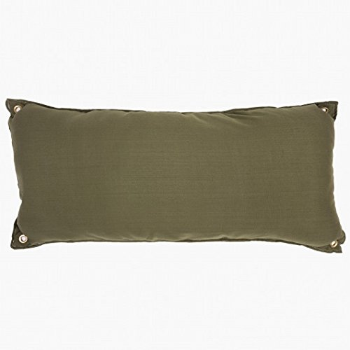 Hatteras Hammocks Traditional Hammock Pillow Willow Place - Leaf Green