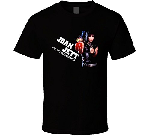 Joan Jett and The Blackhearts Rock T Shirt S Black