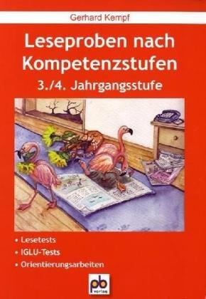 Leseproben nach Kompetenzstufen: 3./4. Jahrgangsstufe