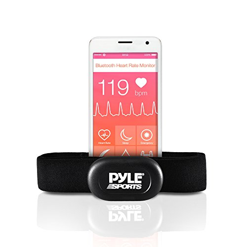 - Pyle Bluetooth Smart Heart Rate Sensor for iPhone and Android Phones, Works with Polar ALA Coach & MotiFit Strava Apps Bluetooth LE Sensor