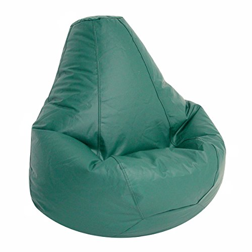 Lifestyle Extra Large Bean Bag Lounger Color: Emerald