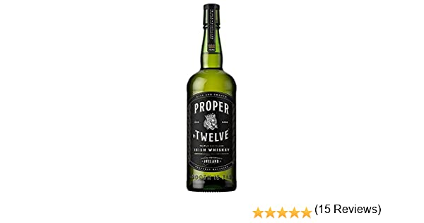 Proper - No.Twelve 12 Connor McGregor Irish - Whisky: Amazon.es ...