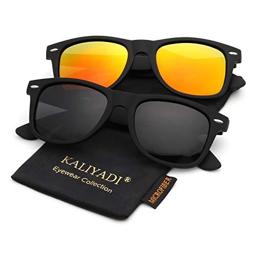 Unisex Polarized Retro Classic Trendy Stylish Sunglasses for Men Women Driving Sun glasses:100% UV Blocking