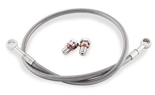 Yzf600 Rear Brake (YAMAHA 2005 YZF 600 R6 GALFER REAR STAINLESS STEEL BRAIDED BRAKE LINE KIT)