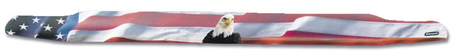 Stampede 2153-30 Vigilante Premium Hood Protector for Ford American Flag with Eagle