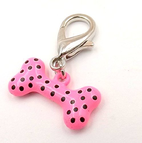 a-dots Bone Charm for Pet Collar Fur-baby Pet Collection Dog (Bone Pet Charm)