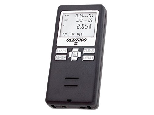 CED7000 Shot Timer - Perfect for Dry Fire Practice Shooting or RO use in USPSA, IPSC, 3 gun, and Steel Challenge. by CED