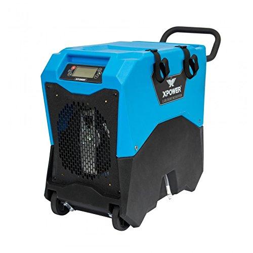XPOWER XD-85LH Commercial LGR Dehumidifier w/Handle & Wheels