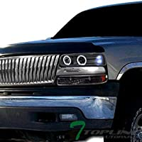 Topline Autopart Chrome Badgeless Vertical Front Hood...